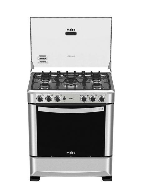 Ofertas de Cocina a Gas Mabe 5 Quemadores ANDES7650FX0 por $329990