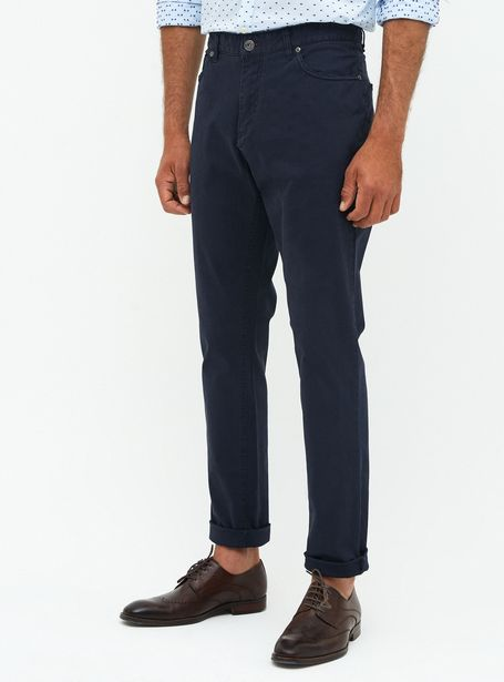 Ofertas de Pantalón Alaniz Básico Liso Slim Fit Alaniz por $7990