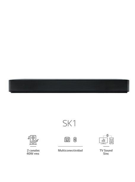 Ofertas de Soundbar LG Audio Barra de Sonido SK1 por $64990