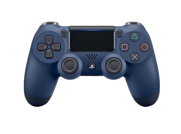 Ofertas de Control PlayStation PS4 DualShock 4 Medianoche Azul por $59990