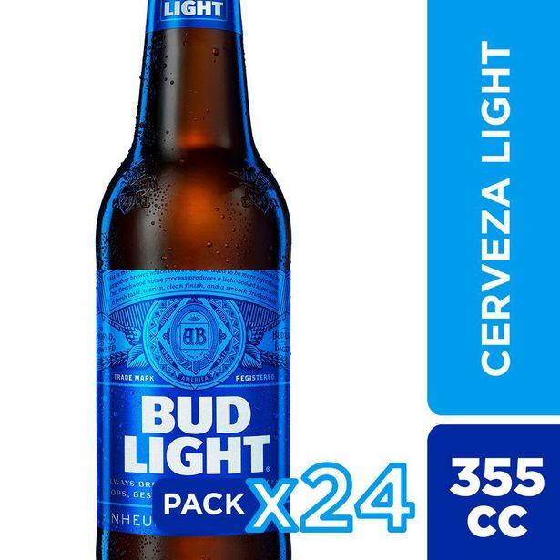 Ofertas de Cerveza Budlight botellin 24 Unidades 355 cc por $14990