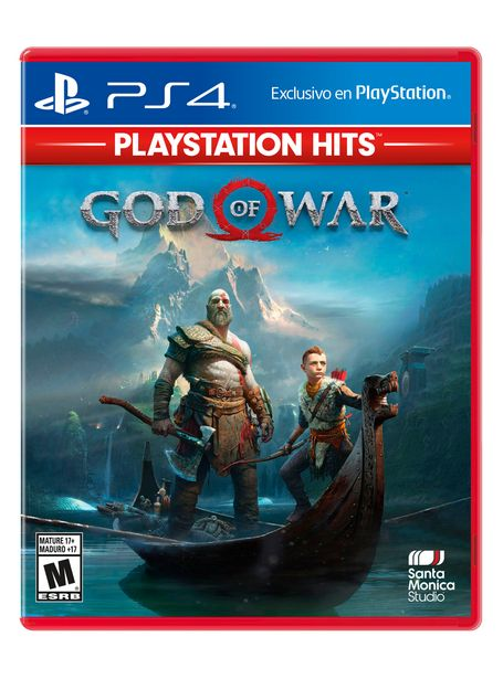 Ofertas de Juego PlayStation PS4 God Of War por $15990