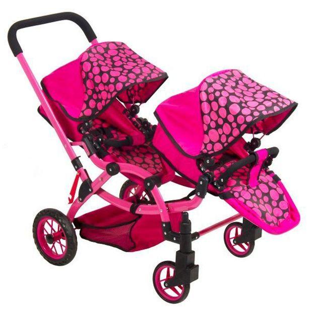 Ofertas de Coche de muñeca voyage duo pink por $99990