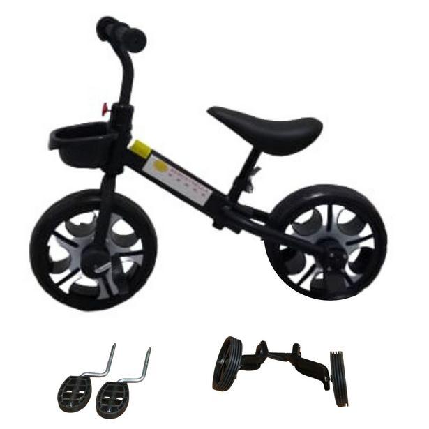 Ofertas de Bicicleta de Equilibrio 3 En 1 Negro por $49990