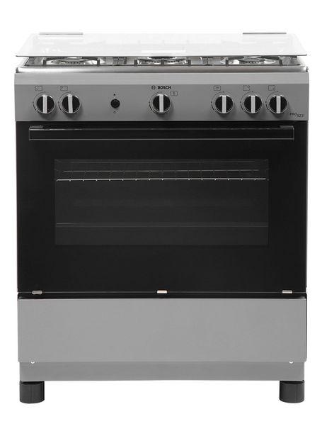 Ofertas de Cocina a Gas Bosch 5 Quemadores PRO 523 HSK18C41SE por $329990