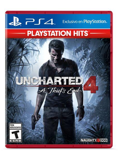 Ofertas de Juego PlayStation PS4 Uncharted 4 por $15990