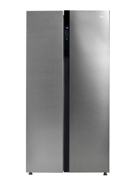 Ofertas de Refrigerador Midea Side by Side No Frost 527 Litros MRSBS-5300 por $439990