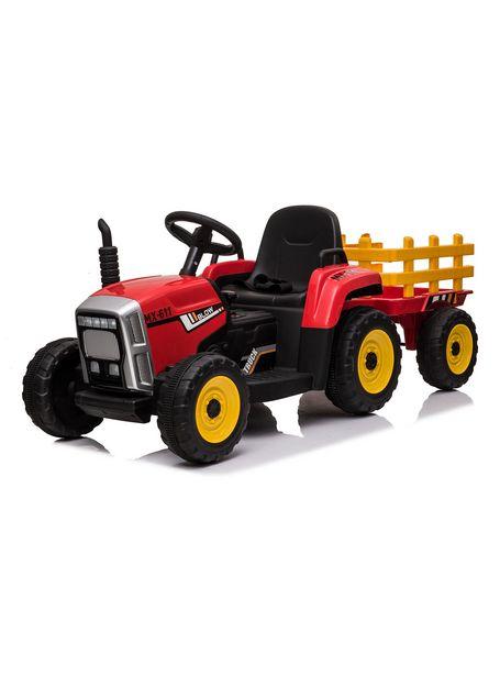 Ofertas de Tractor con Carro a Batería 12V Rojo Talbot por $179990