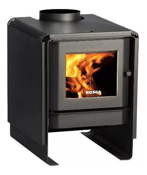 Ofertas de Calefactor A Leña 7,5 Kw Eco 350 Negro. Bosca por $342990