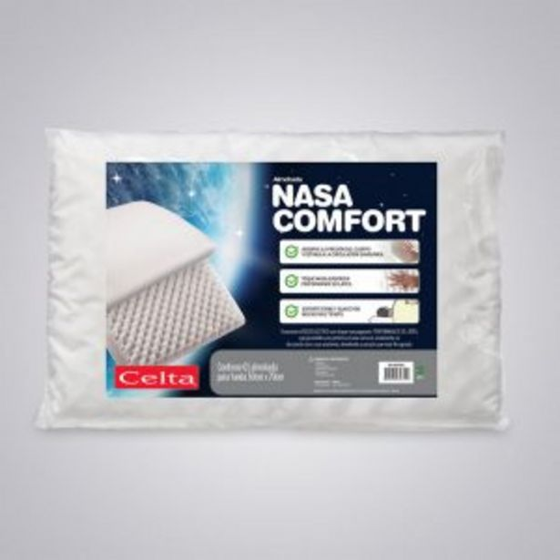 Ofertas de Almohada Nasa Comfort 40×60 cm por $10990