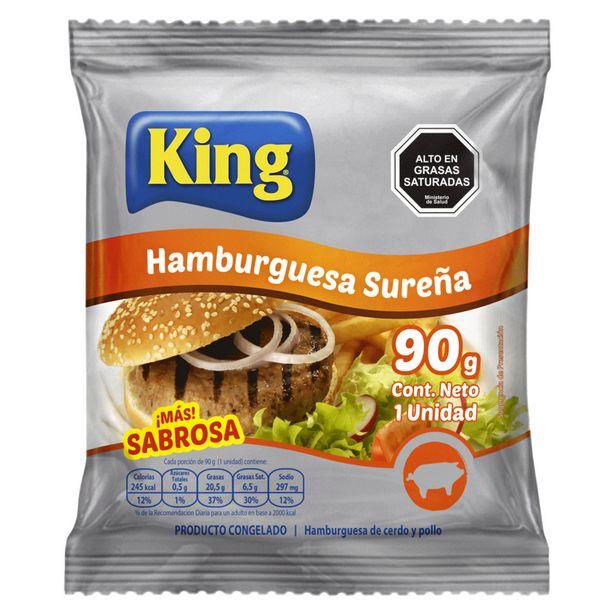 Ofertas de Hamburguesa de cerdo 90 g por $399