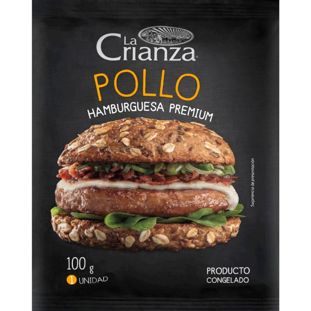 Ofertas de Hamburguesa de pollo 100 g por $590