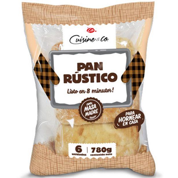 Ofertas de Pan rústico precocido 6 un. por $2189