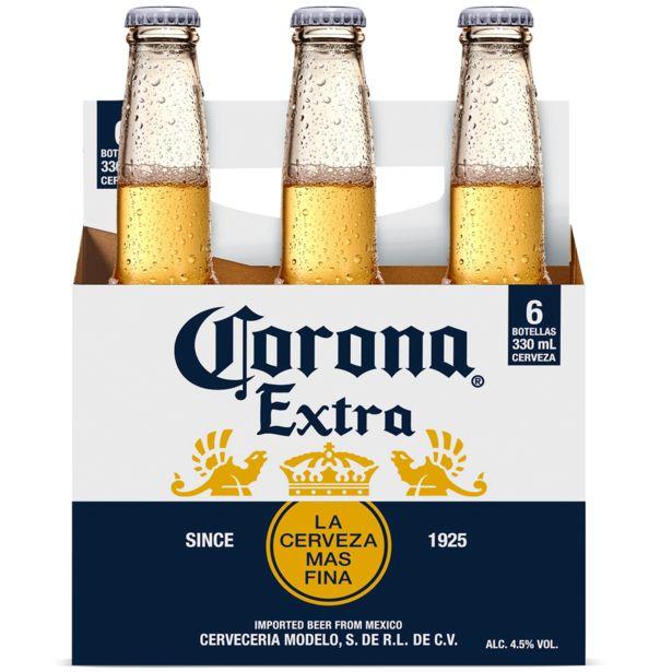 Ofertas de Pack 6 un. Cerveza rubia botella 330 cc por $6290
