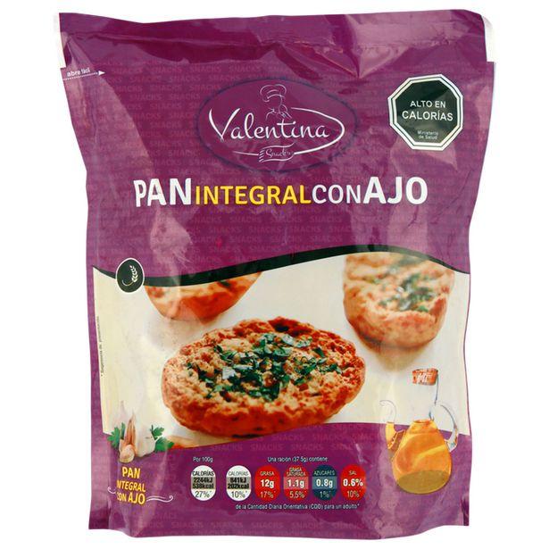 Ofertas de Pan Tostado Integral Valentina con ajo 150 g por $999