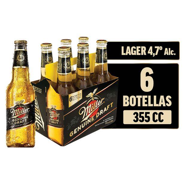 Ofertas de Pack 6 un. Cerveza en botella 355 cc por $6650