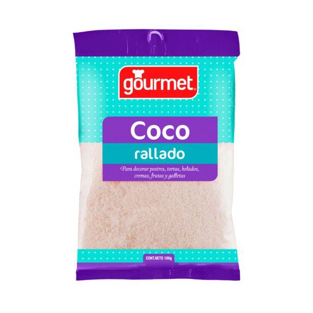 Ofertas de Coco rallado blanco sobre 100 g por $719