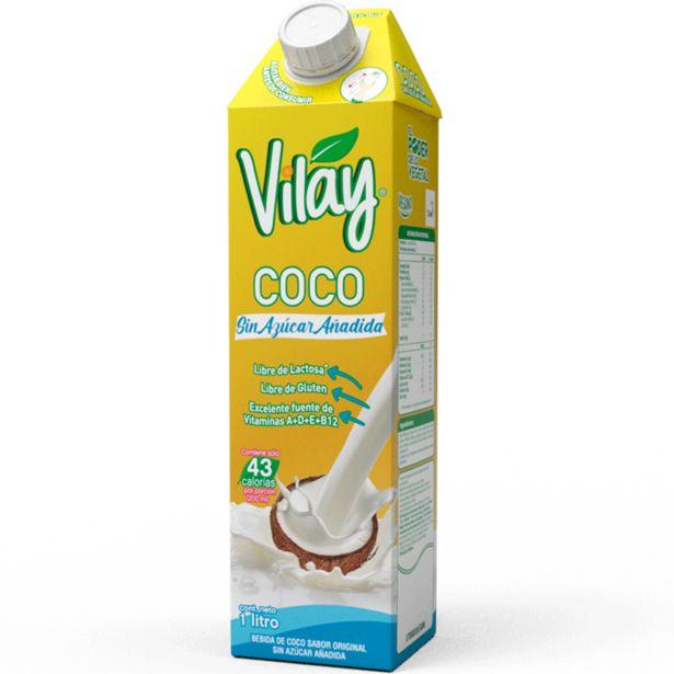 Ofertas de Bebida de coco Vilay Original sin azúcar 1 L por $1899