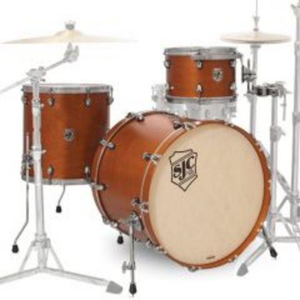 Ofertas de Shell Pack Sjc Drums Tour Series TSK322GOSS - hardware plateado  - Ocre Dorado por $1799900