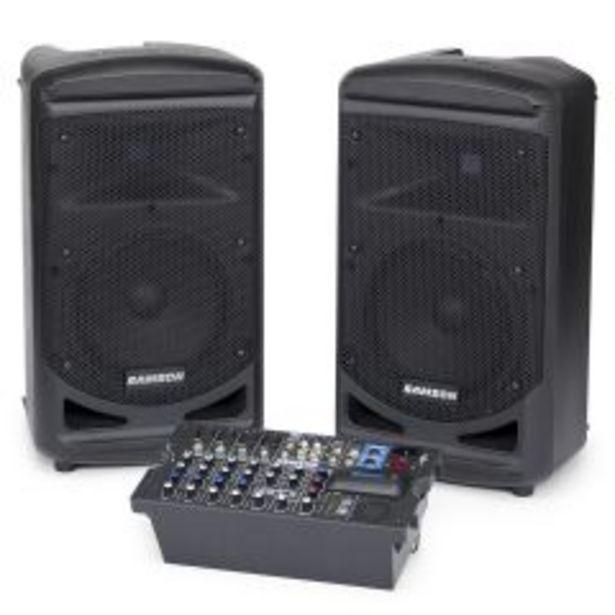 Ofertas de Set de amplificación portable Samson XP800 - con Bluetooth por $589900
