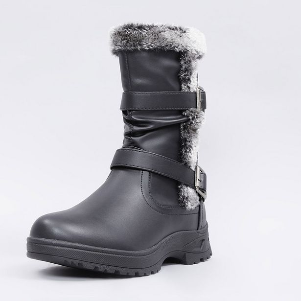 Ofertas de Bota Comfort Chiporro Negro - Mujer por $6990