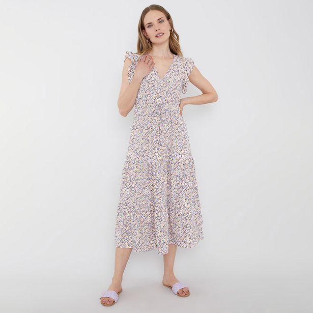 Ofertas de Vestido Romántico Vuelos I Lila - Mujer por $14990