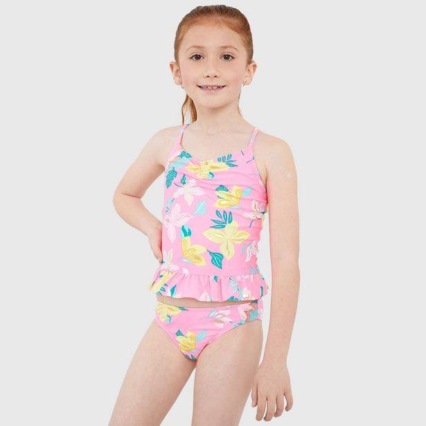 Ofertas de Tankini Kids Rosado - Niña por $8990
