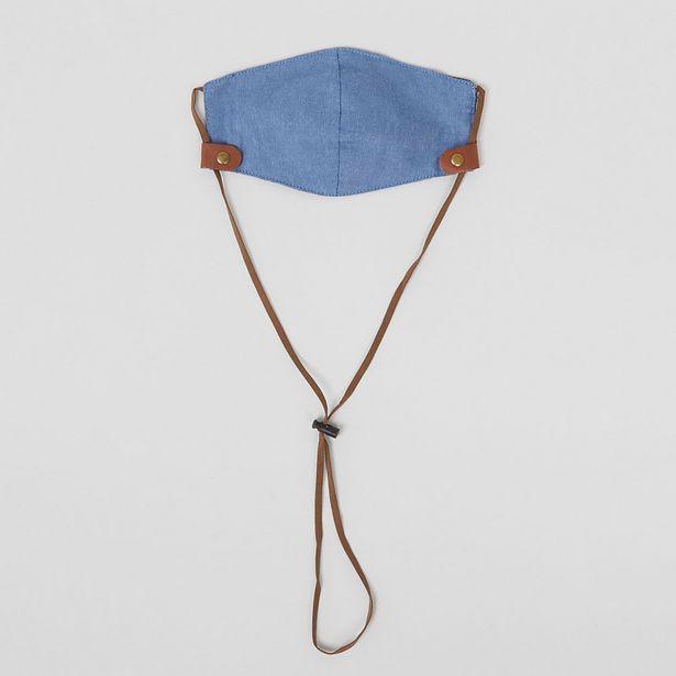 Ofertas de Mascarilla Denim Azul Claro - Hombre por $4990