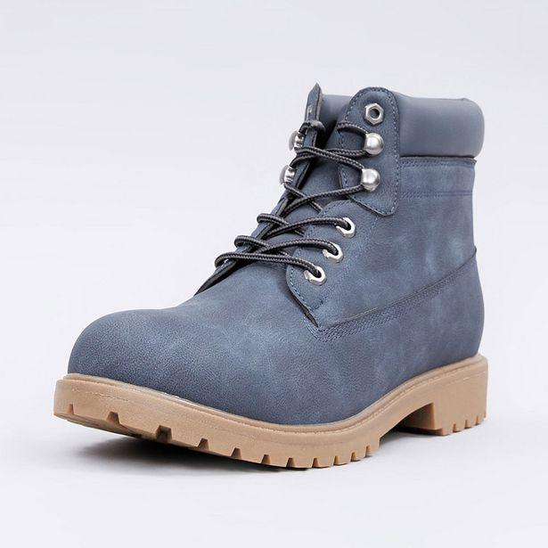 Ofertas de Botin Casual Azul - Hombre por $12990