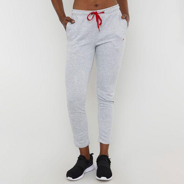 Ofertas de Pantalón De Buzo Pitillo Gris - Mujer por $12990