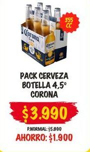Ofertas de Cervezas Corona por $3990