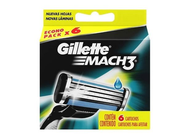 Ofertas de GILLETTE MACH3 REPUESTOS DE 6 CARTUCHOS por $9995
