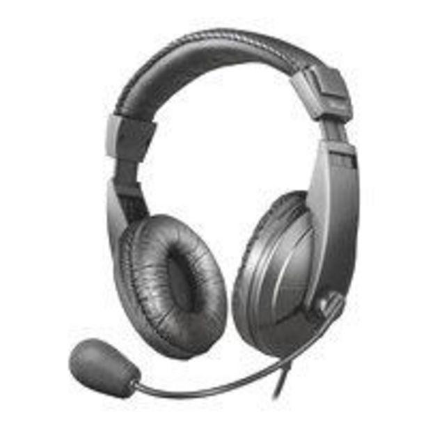 Ofertas de Audifono Call Center Trust Quasar Headset por $11390