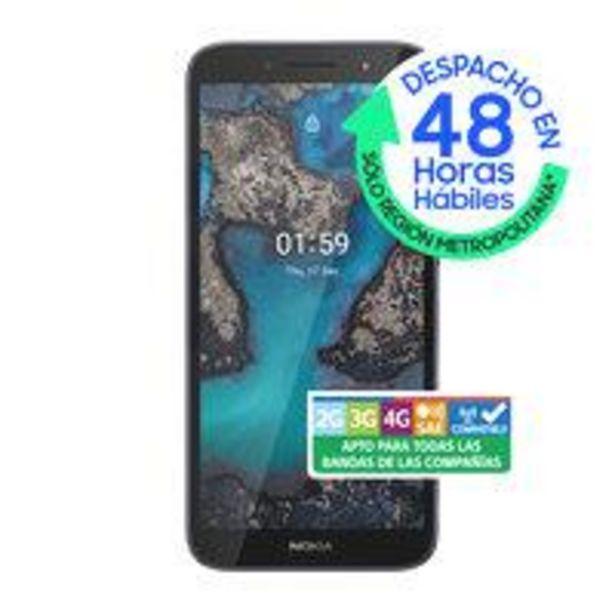 Ofertas de Smartphone Nokia C1 Plus 16GB/1GB Azul Wom por $54990