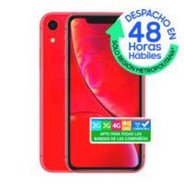 Ofertas de IPhone XR 64GB Rojo por $439990