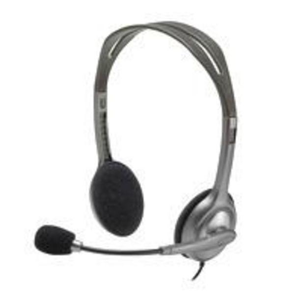 Ofertas de Audifono Stereo Headset H111 por $8490