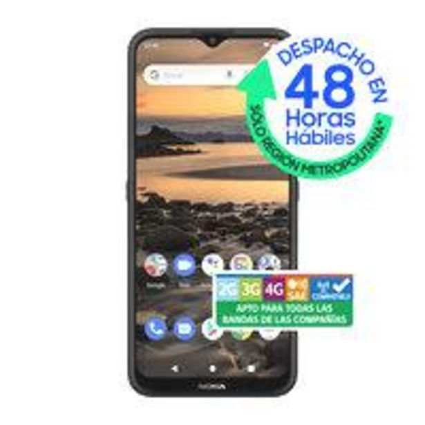 Ofertas de Smartphone Nokia 1.4 32GB/2GB Negro Wom por $62990