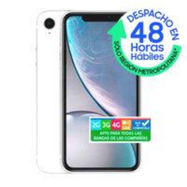 Ofertas de IPhone XR 64GB Blanco por $439990
