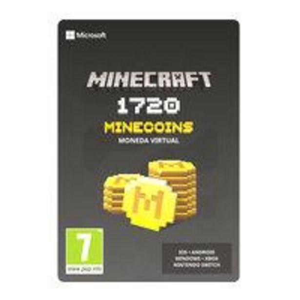 Ofertas de Código Digital 1720 Monedas Minecraft por $7790