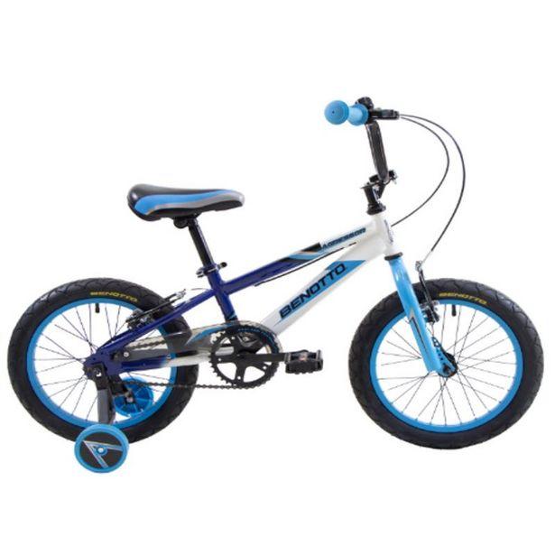 Ofertas de Bicicleta Infantil Agressor Aro 16 Azul Marino / Blanco / Azul por $159990