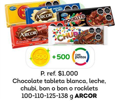 Ofertas de Chocolate Arcor por
