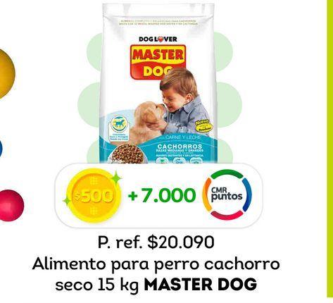 Ofertas de Comida para perros Master Dog 15 kg por
