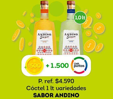 Ofertas de Cóctel sabor andino 1 Lt por