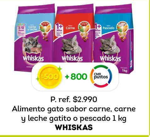 Ofertas de Comida para gatos Whiskas 1 kg por