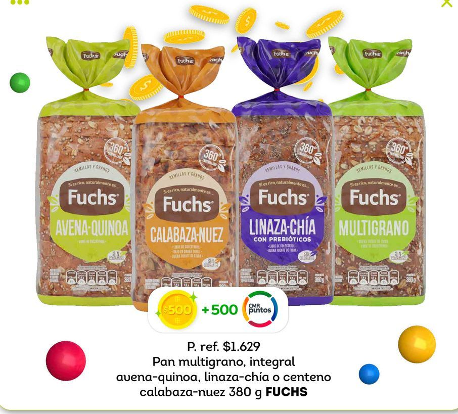 Ofertas de Pan de molde Fuchs por