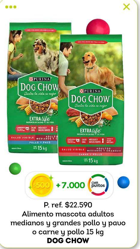 Ofertas de Comida para perros Dog Chow 15 kg por