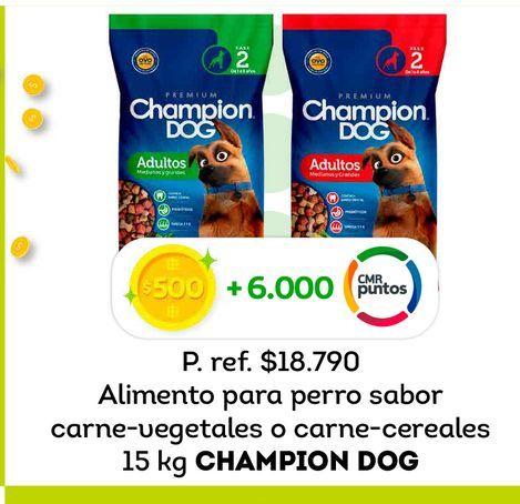 Ofertas de Comida para perros Champion Dog 15 kg por