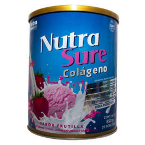 Ofertas de NUTRASURE COLÁGENO FRUTILLA 850 G por $16690