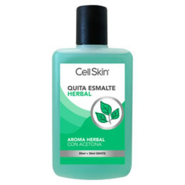 Ofertas de Quita Esmalte Herbal 80ml + 30ml GRATIS por $999