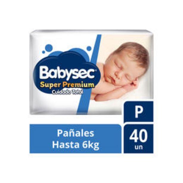 Ofertas de Pañales Super Premium P 40 unidades por $7790